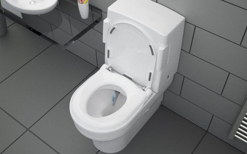 social distancing in the bathroom
